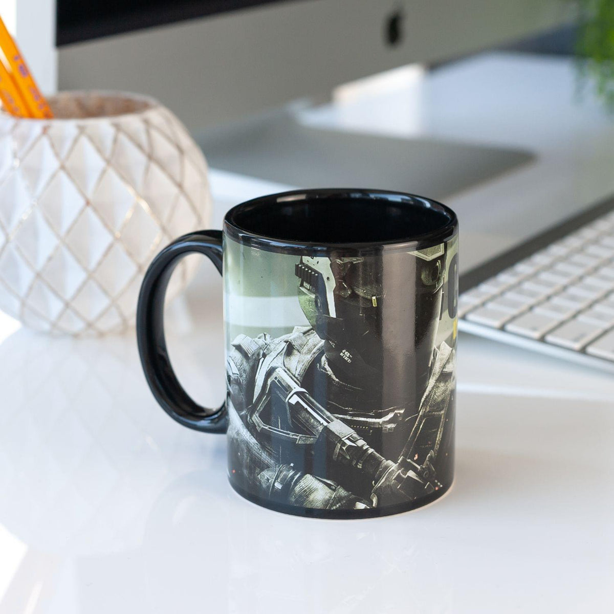 Call of Duty Costume | Call of Duty Infinite Warfare Ceramic Coffee Mug