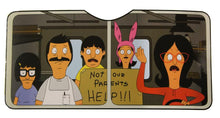 Load image into Gallery viewer, Bob's Burgers Car Sun Shade
