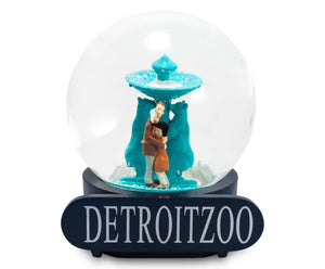 Coraline Detroit Zoo 6 Inch Collectible Snow Globe