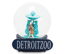 Load image into Gallery viewer, Coraline Detroit Zoo 6 Inch Collectible Snow Globe