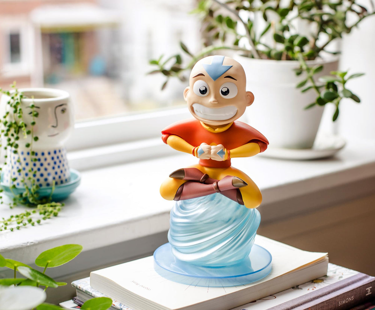 Avatar: The Last Airbender Aang Figure Garden Gnerd Gnome Statue | 8 Inches