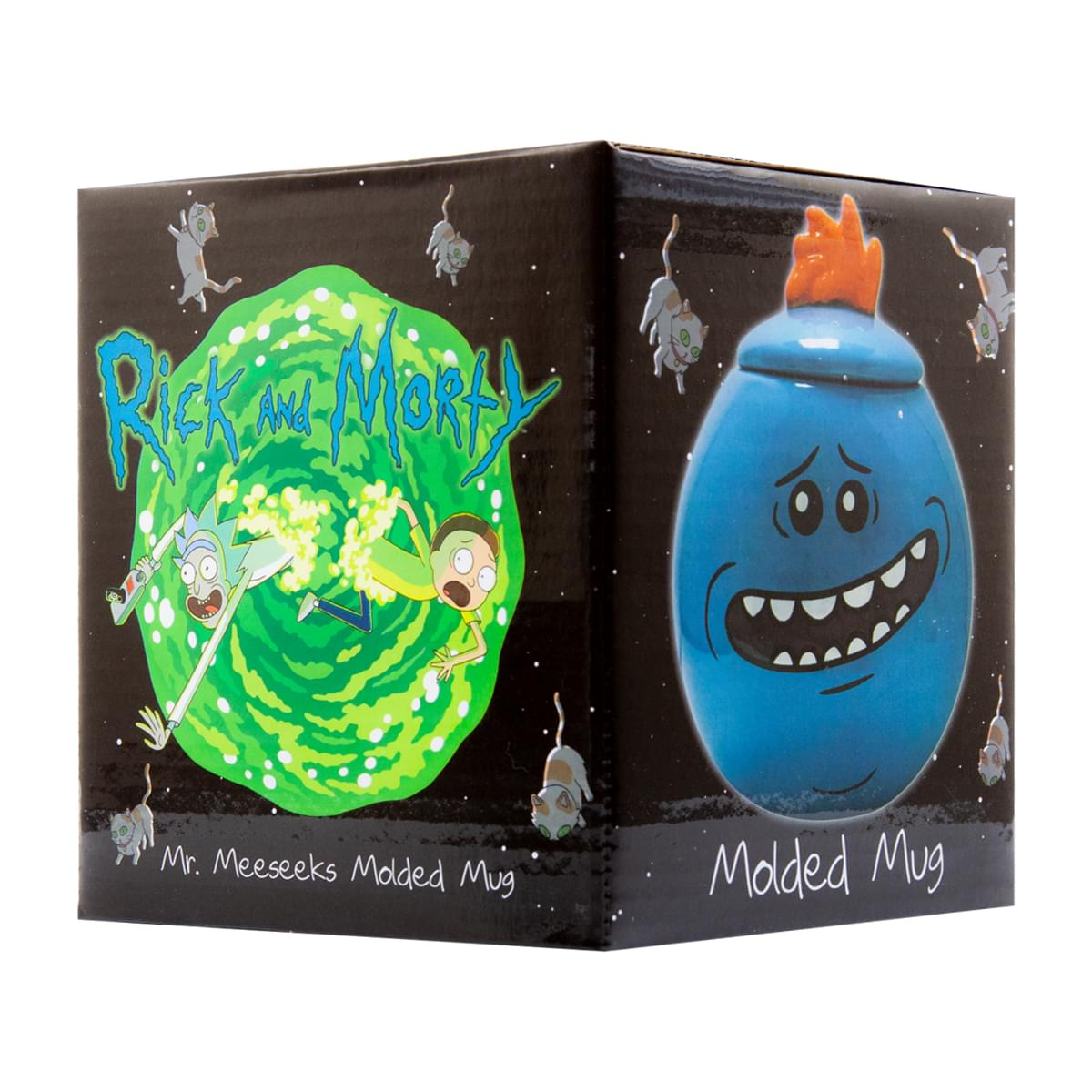 Rick and Morty Mr. Meeseeks Mini Mug/Jar Set Of 2