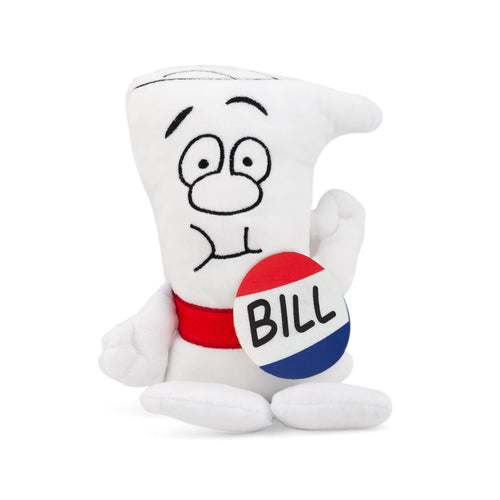 Schoolhouse Rock! Bill Plush Character | I'm Just A Bill | 9.5 Inches Tall