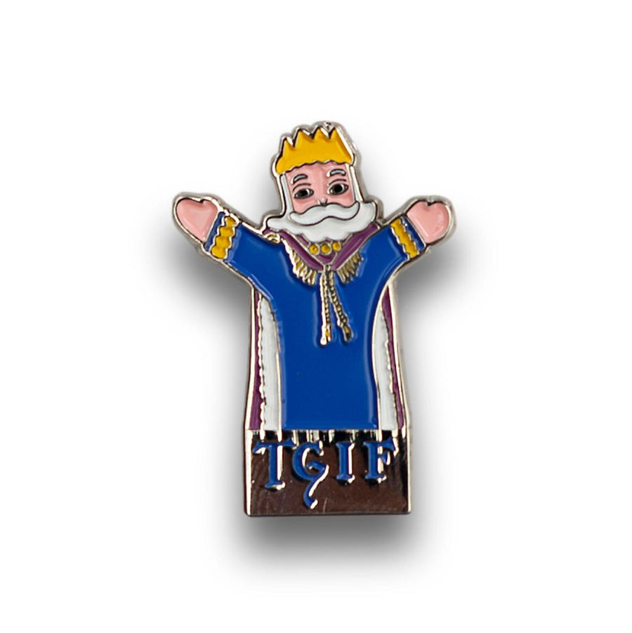 Mister Rogers King Friday TGIF Exclusive Enamel Collector Pin