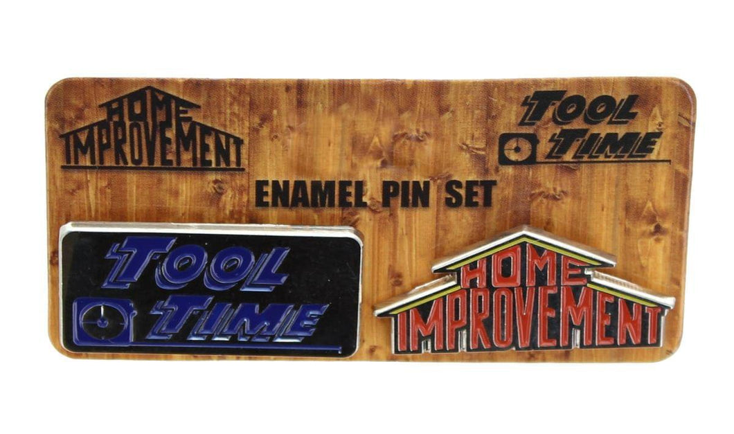 Home Improvement Collectibles| Home Improvement Enamel Collector Pin Set