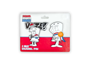 Schoolhouse Rock! I'm Just A Bill And Law Pin Set | 2 Inches | Toynk Exclusive