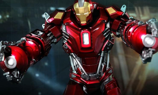 Iron Man 3 Hot Toys 1:6 Power Pose Collectible Figure: Red Snapper Mark XXXV