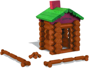 Worlds Smallest Lincoln Logs Retro Toy