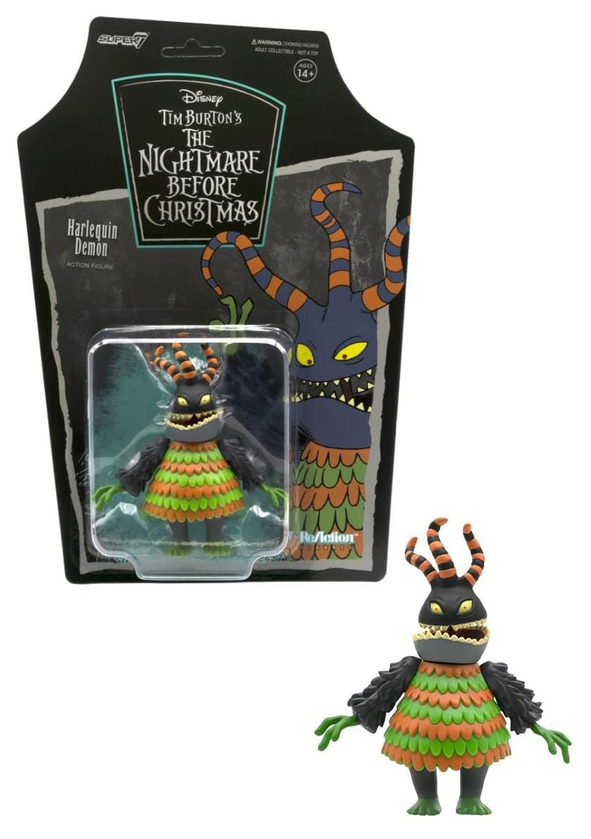 Nightmare Before Christmas 3.75 Inch Reaction Figure | Harlequin Demon