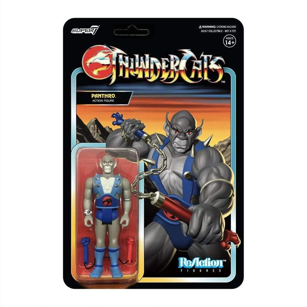 Thundercats 3.75 Inch Reaction Figure | Panthro