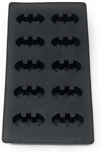 DC Comics Batman Logo Silicone Ice Cube Tray | Makes 10 Molded Cubes