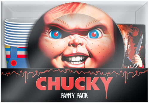 Childs Play Chucky 60 Piece Party Tableware Set | Cups | Plates | Napkins