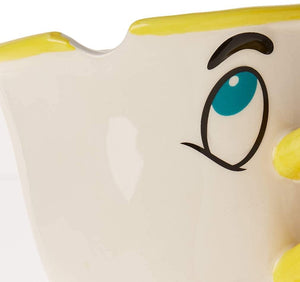 Disney Beauty and The Beast Chip 18oz Sculpted Ceramic Mug