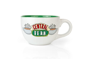 Friends Central Perk Ceramic 24oz White Ceramic Soup Mug