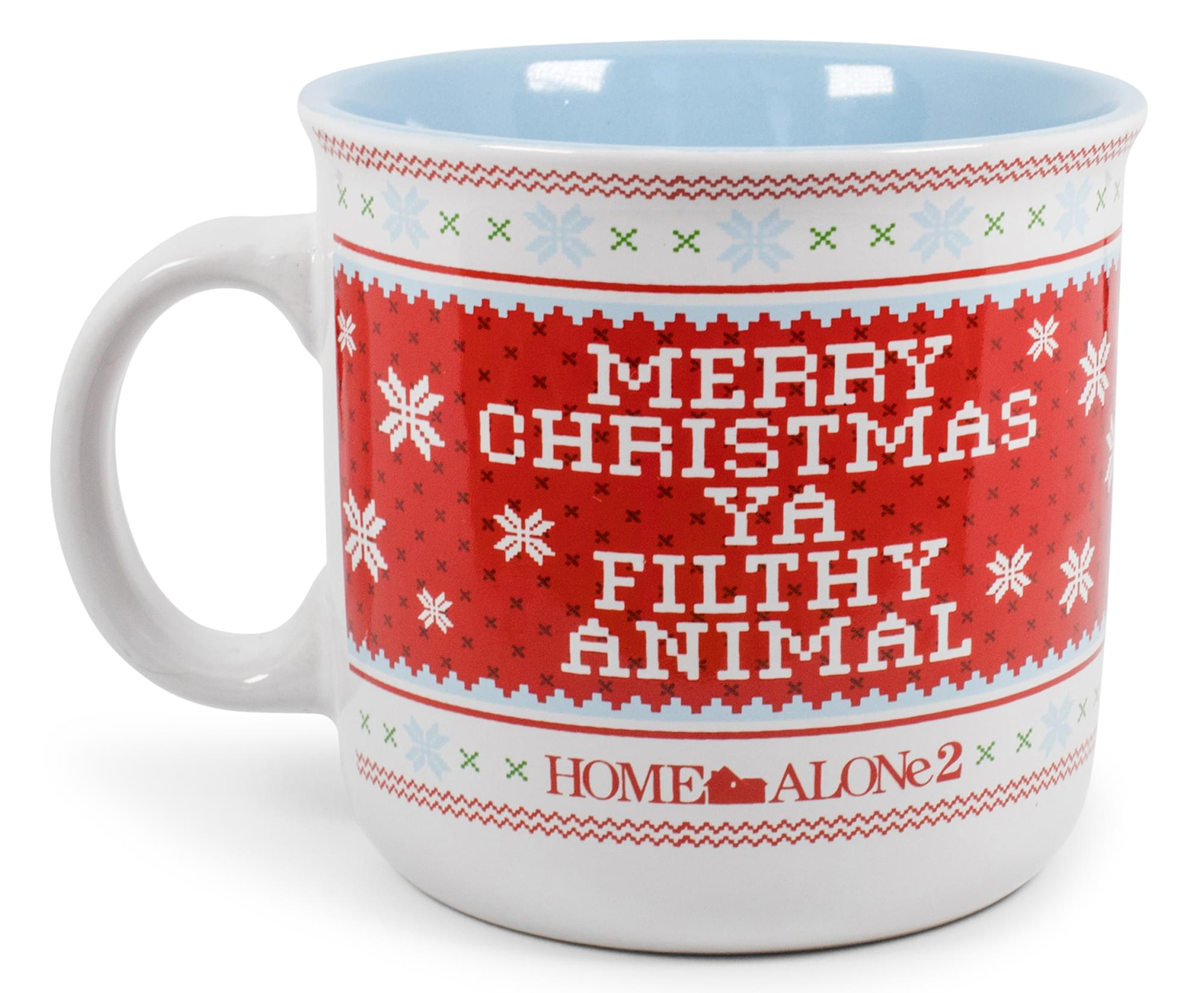 Home Alone 2 Filthy Animal Ceramic Camper Mug | Holds 20 Ounces