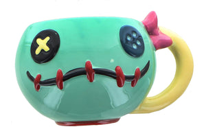 Disney Lilo & Stitch Scrump 20oz Sculpted Ceramic Mug