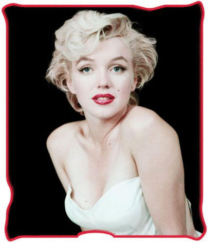 Marilyn Monroe White Dress 50x60 Inch Micro-Plush Throw Blanket