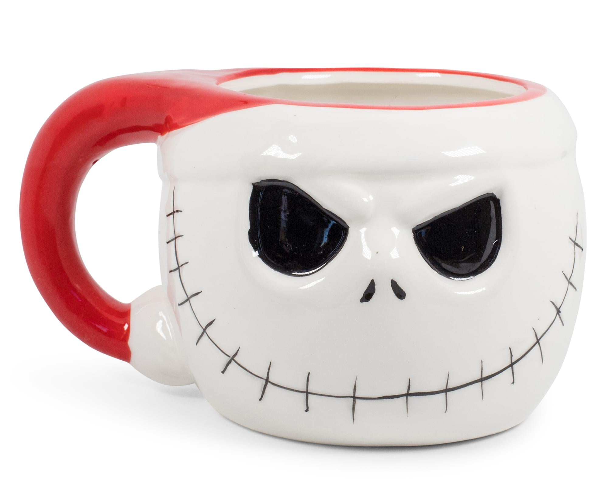 The Nightmare Before Christmas Santa Jack Skellington 3D Coffee Mug | 20 Ounces
