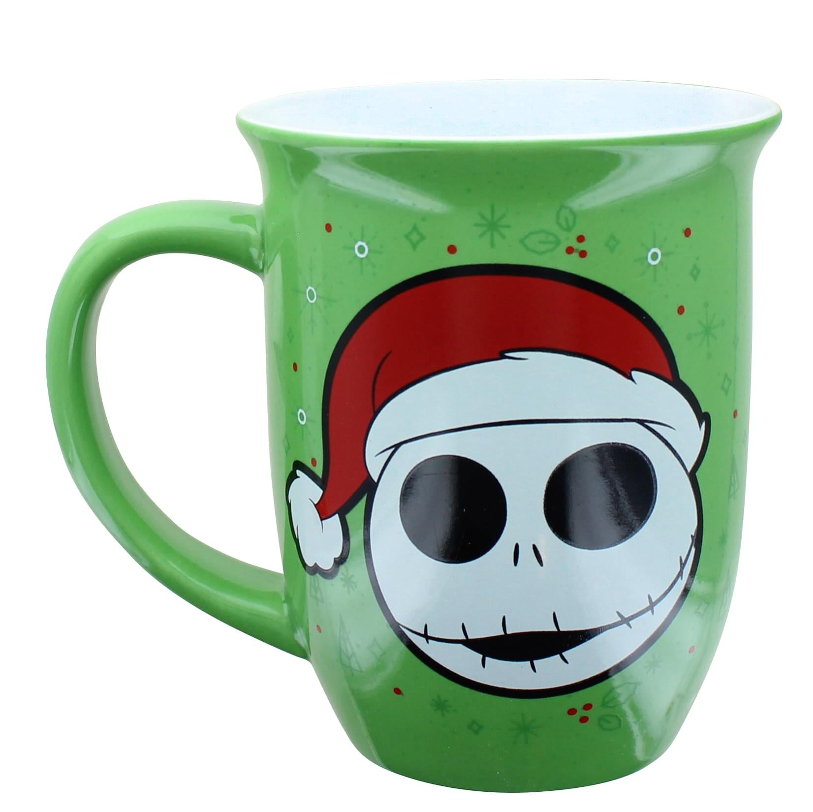 Nightmare Before Christmas Santa Jack16 Ounce Wide Rim Ceramic Mug