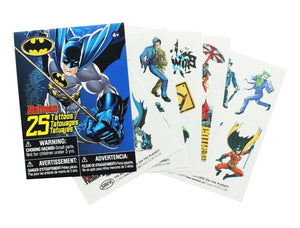 Batman Temporary Tattoos, Pack of 25