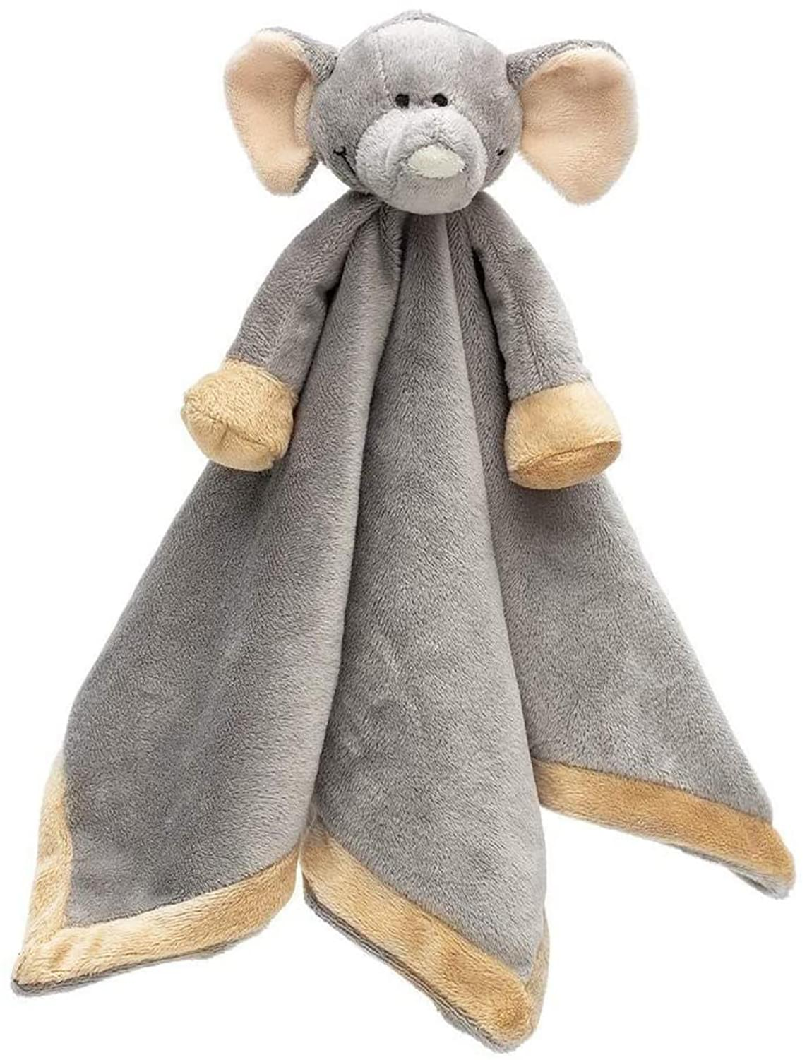 Teddykompaniet Diinglisar Collection 11 Inch Plush Animal Blanket | Elephant