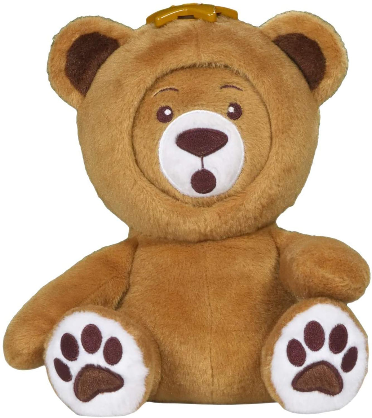 WhatsItsFace 12 Inch Teddy Bear Plush with 6 Different Faces