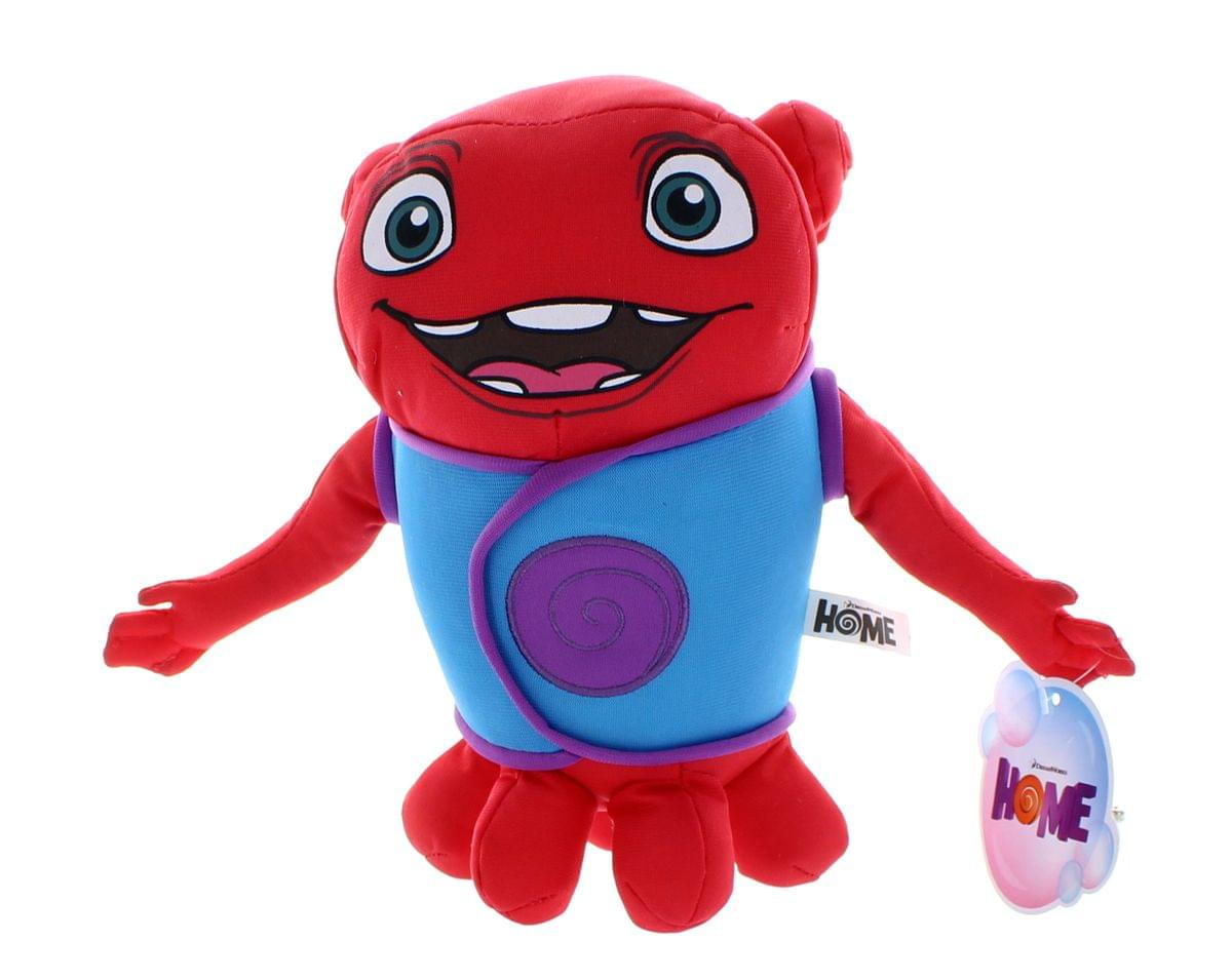 "Home 9"" Plush Red Oh"
