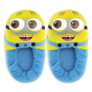 Despicable Me 2, 2 Eyed With Open Mouth Minion Jorge Child Slippers