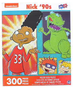 Nick 90s Rugrats 300 Piece Poster Sized Jigsaw Puzzle