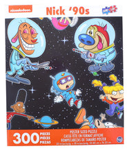 Load image into Gallery viewer, Nick 90s Space 300 Piece Poster Sized Jigsaw Puzzle