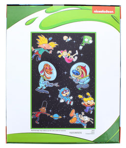 Nick 90s Space 300 Piece Poster Sized Jigsaw Puzzle
