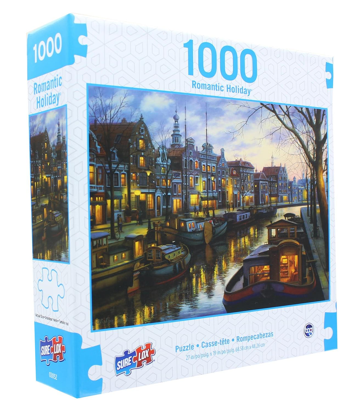 Romantic Holiday 1000 Piece Jigsaw Puzzle | Canal Life
