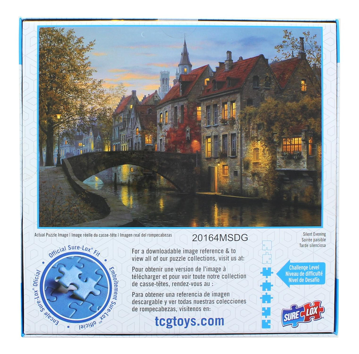 Romantic Holiday 1000 Piece Jigsaw Puzzle | Silent Evening