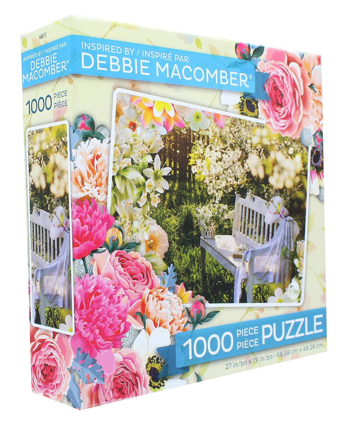 Debbie Macomber 1000 Piece Jigsaw Puzzle | Garden Retreat