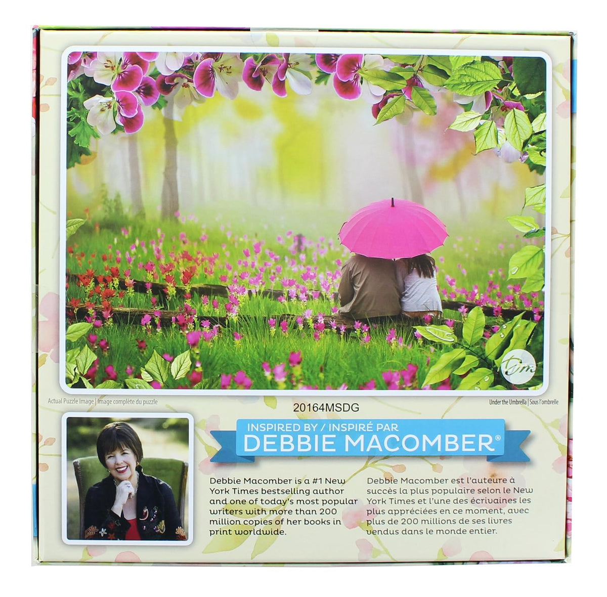 Debbie Macomber 1000 Piece Jigsaw Puzzle | Under The Umbrella