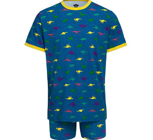 Dinosaur Dino-Mite! Men's Shirt & Boxer Briefs Sleep Set