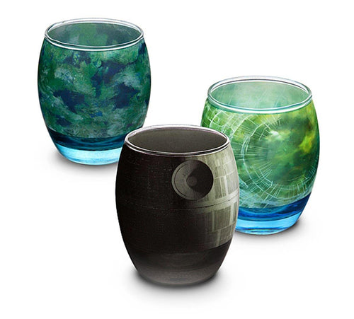 Star Wars Planetary Glass Set of 6