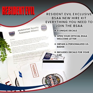 Resident Evil Exclusive BSAA New Hire Kit | Everything You Need To Join The BSAA
