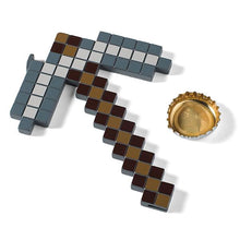 Load image into Gallery viewer, Minecraft Pickaxe Bottle Opener