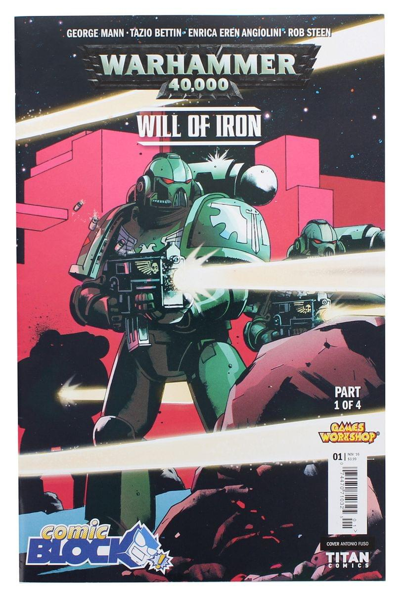 "Warhammer 40K ""Will of Iron"" #1 (Comic Block Exclusive Cover)"