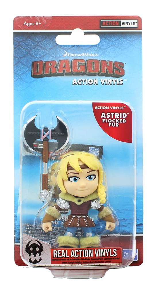 "How To Train Your Dragon 3.25"" Action Vinyl: Astrid (Flocked Fur)"