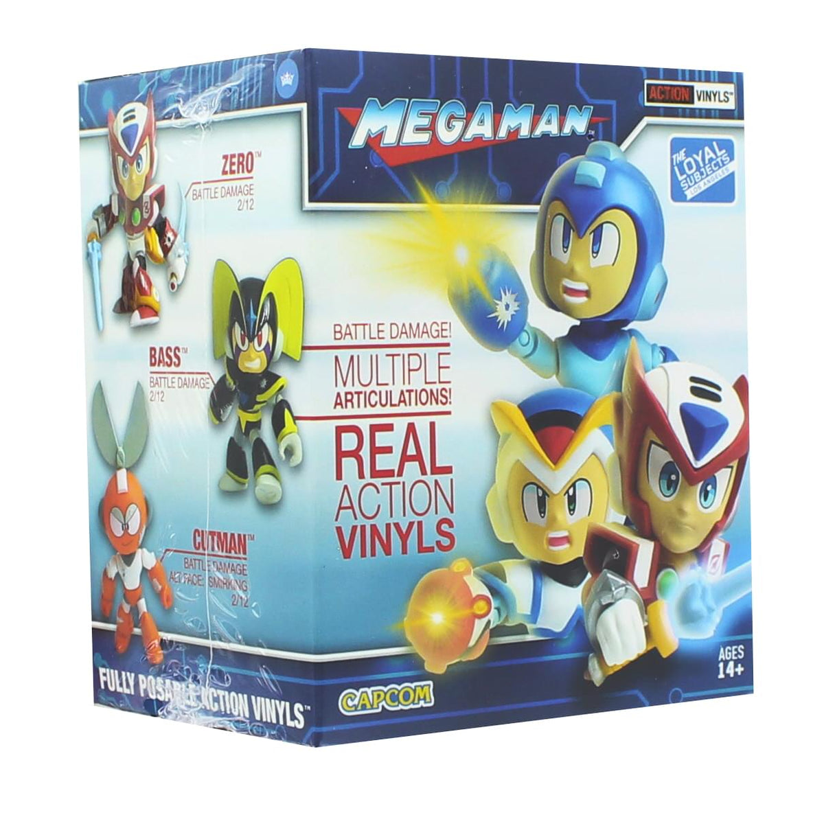 Mega Man Blind Box 3.25 Inch Battle Damaged Action Vinyl - One Random