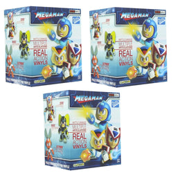 Mega Man Blind Box 3.25 Inch Metallic Action Vinyls - Lot of 3