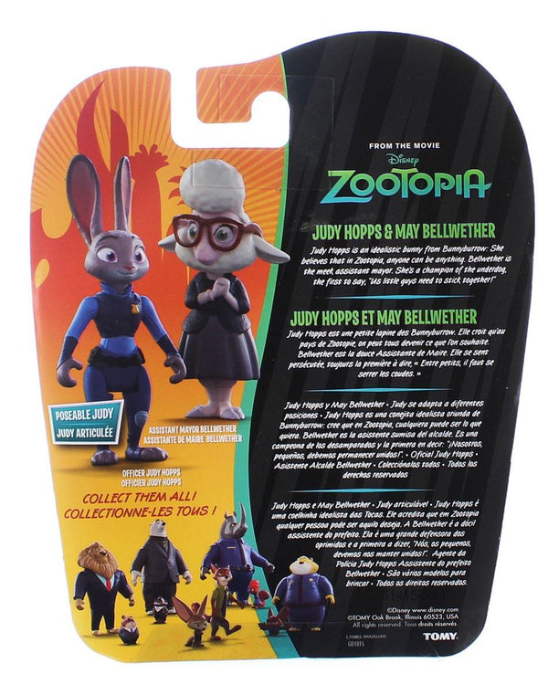 Disney Zootopia Character 2-Pack Judy Hopps & Bellwether Figures