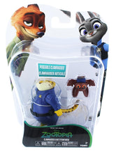 Load image into Gallery viewer, Disney Zootopia Chararcter 2-Pack Clawhauser & Bat Eyewitness