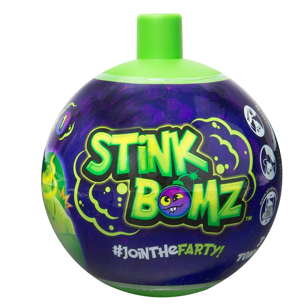 Stink Bomz 5 Inch Scented Plush - Squirmy