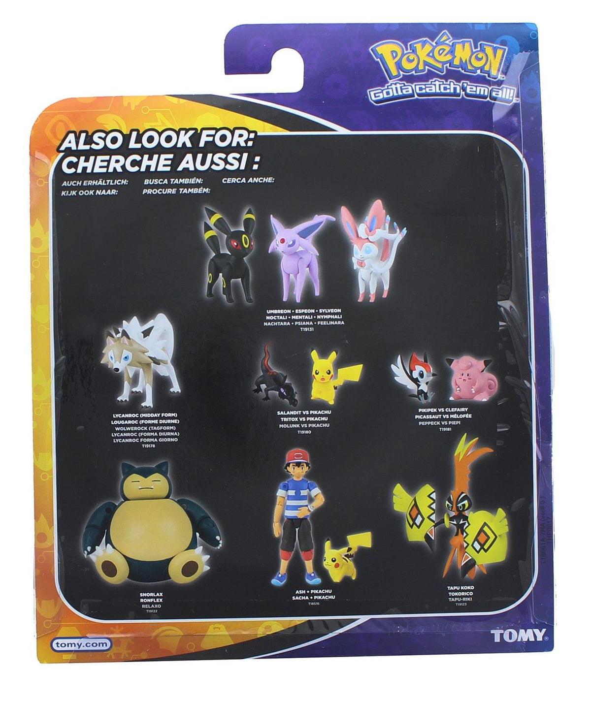 Tagform TOMY T19178 Pokemon Actionfigur Wolwerock