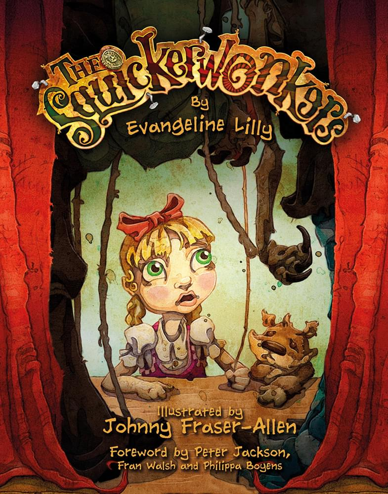 The Squickerwonkers Children's Book by Evangeline Lilly