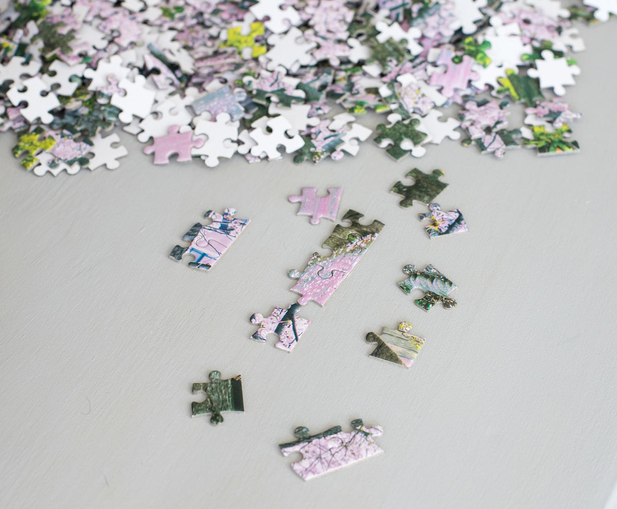 Cherry Blossom Bliss Tokyo Japan Puzzle | 1000 Piece Jigsaw Puzzle
