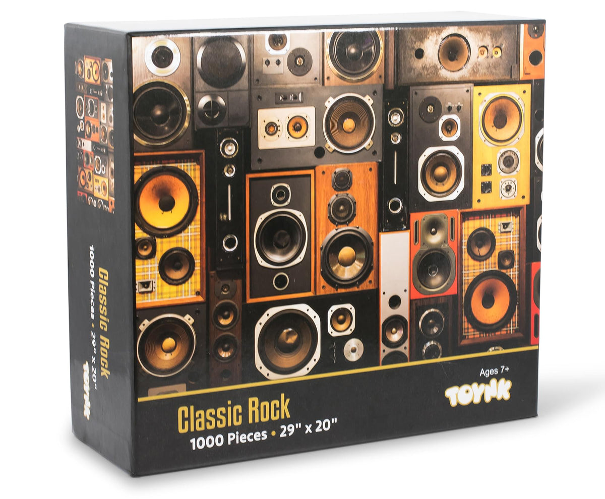 Classic Rock Music Surround Sound Systems 1000 Piece Jigsaw Puzzle